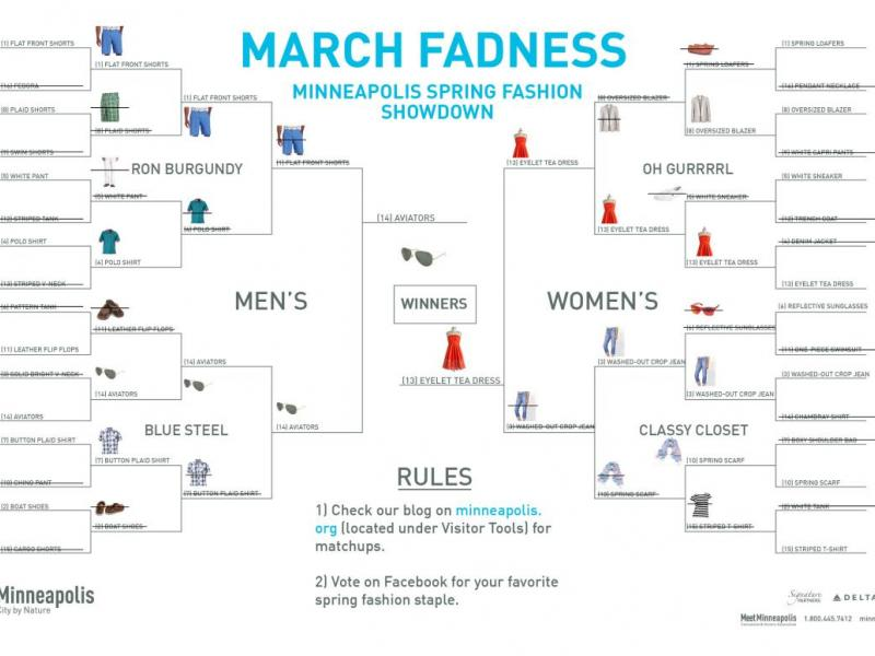 MARCH FADNESS: SPRING SHOPPING SECOND ROUND