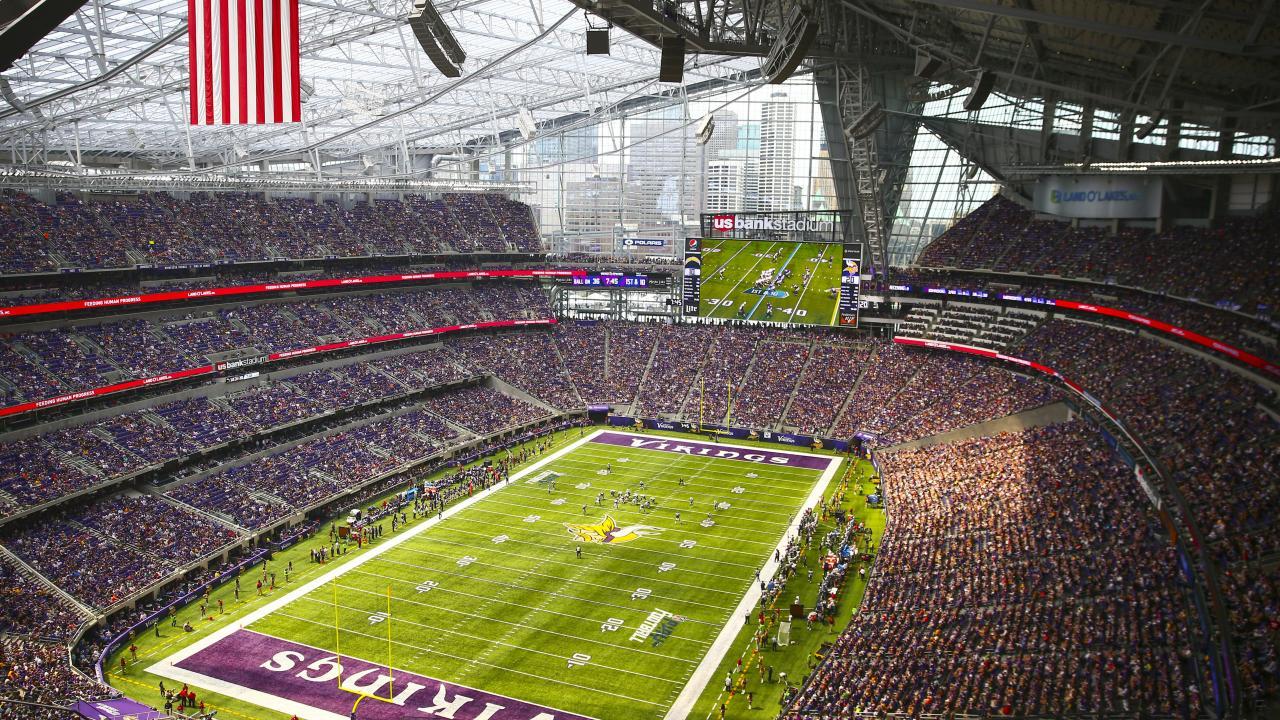 Em Minnesota irá acontecer o grande jogo da NFL 2018