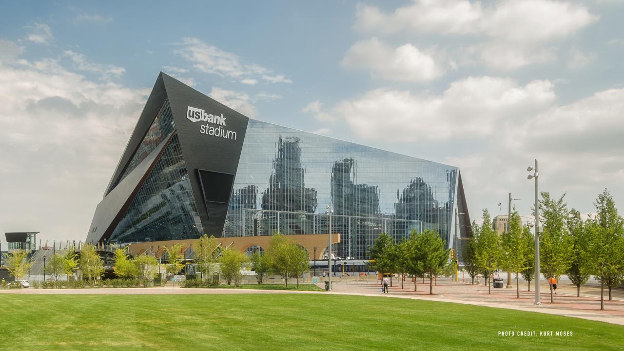 US Bank Stadium Tours Meet Minneapolis - Museums on us bank of america list